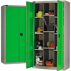 12 Compartment Cupboard With Active Coat