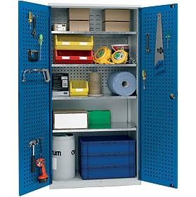 Heavy Duty Industrial Cupboard With Integral Bin Amp Tool