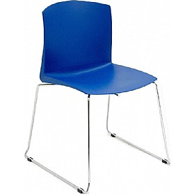 Style High Density Poly Chairs (Pack of 4)