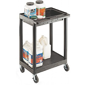 2 Shelf Service Trolley