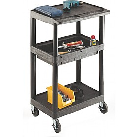 Tall Shelved Service Trolley