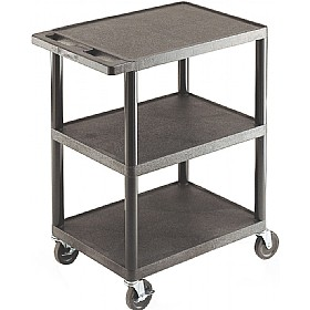 3 Flat Shelf Service Trolley