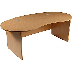 Modus Commercial Panel End Kidney Desk £283 - Office Furniture