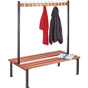 Double Sided Cloakroom Units