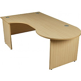 Modus Commercial Panel End Managerial Ergonomic Desk £318 - Office Furniture