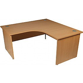 Modus Commercial Panel End Ergonomic Desk £195 - Office Furniture