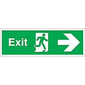 Exit Right Arrow