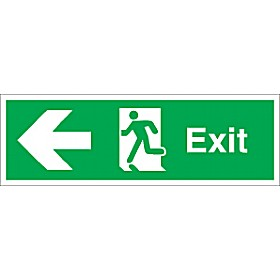 Exit Left Arrow