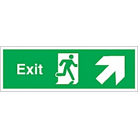 Exit Up Diagonal Right Arrow