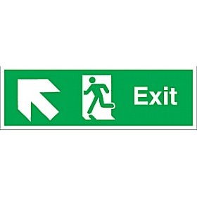 Exit Up Diagonal Left Arrow