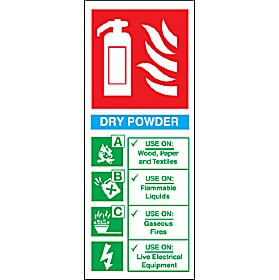 Dry Powder Fire Extinguisher Sign Cheap Dry Powder Fire
