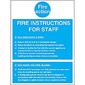Fire Action Notice 4 Cheap Fire Action Notice 4 From Our