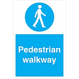 Pedestrian Walkway Sign £5 - Signs