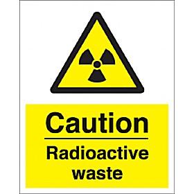 Caution Radioactive Waste Sign Cheap Caution Radioactive
