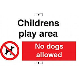 Childrens Play Area No Dogs Allowed Sign Cheap Childrens