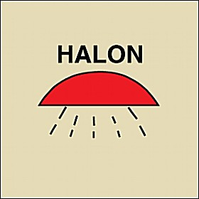 Gemglow Area Protected By Halon 1301