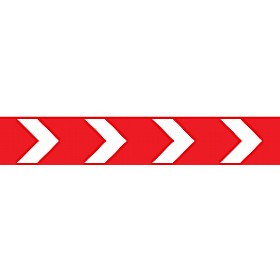 Red/White Arrow Sign