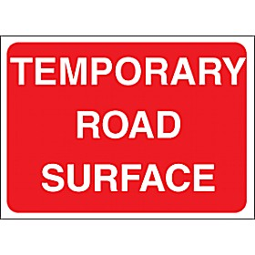Temporary Road Surface Sign