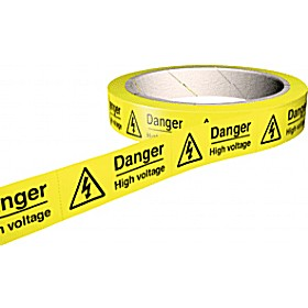 Danger High Voltage Hazard Labels