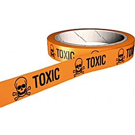 Toxic COSHH And Laboratory Tapes