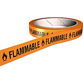Flammable COSHH And Laboratory Tapes