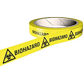 Biohazard COSHH And Laboratory Tapes