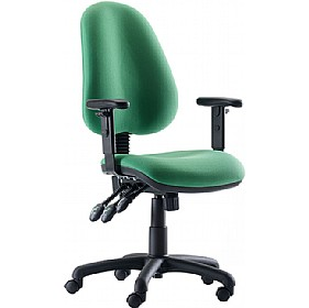 Oxford High Back Operator Chair £131 - Office Furniture