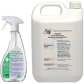 Bioguard Disinfectant Cleansers £6 - Health & Safety