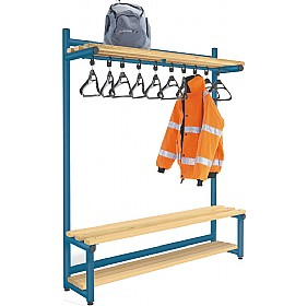 Hanging Cloakroom Benches