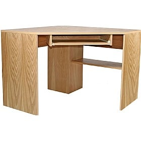 Oakwood Corner Desk £234 - Office Furniture