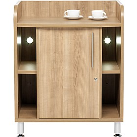 Trilogy Compact Storage Credenza