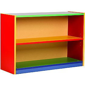 Multi Coloured Bookcases
