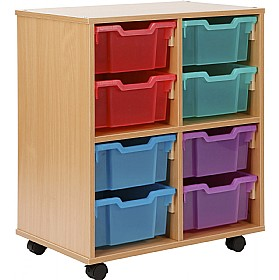 Storage Allsorts 8 Deep Jelly Tray Unit