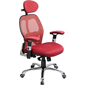 Ergo-Tek Wine Mesh Manager Chair