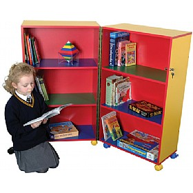 Mobile Foldaway Bookcase
