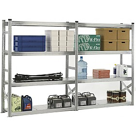 Supershelf Zinc Longspan Shelving