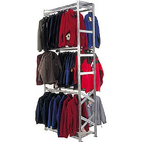 Supershelf Zinc Garment Racking