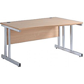 NEXT DAY Pulse Wave Cantilever Desks £137 - Office Furniture