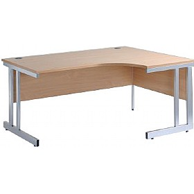 NEXT DAY Pulse Ergonomic Cantilever Desks £201 - Office Furniture