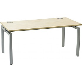 Linear Single Starter Rectangular Bench Desk £238 - Office Furniture