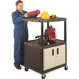 3 Shelf Super Strong Cabinet Trolley
