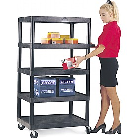5 Shelf Service Trolley