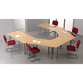 Braemar Trapezoidal Meeting Tables