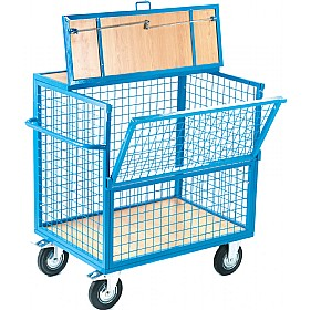 Mesh Security Trolley