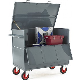 Steel Security Box Trolley