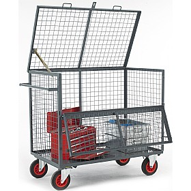 Mesh Security Box Trolley