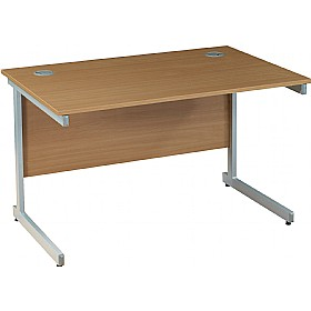 NEXT DAY Solar Rectangular Cantilever Desks £102 - Office Furniture