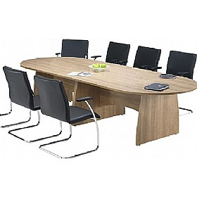 Trilogy D-End Boardroom Tables £687 - Office Furniture
