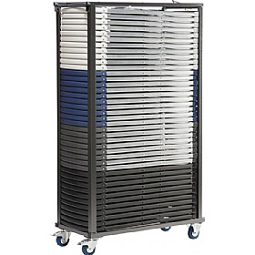 Folding Chair Trolley 50 Capacity