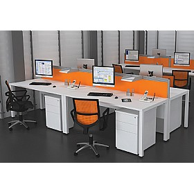 Presence Rectangular Combination Desks